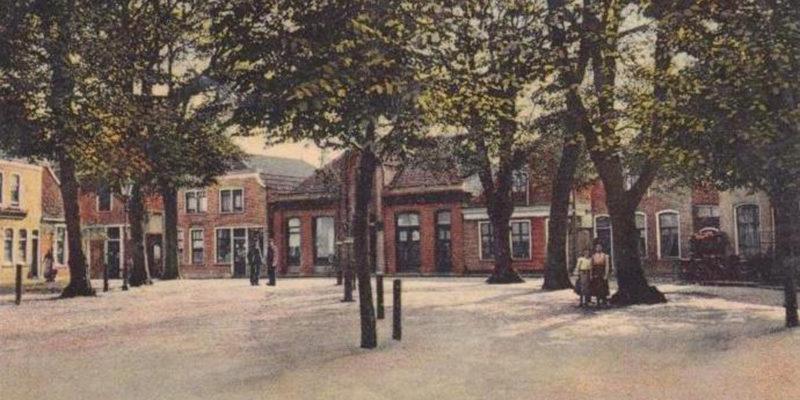 Den Burg Groeneplaats 1925